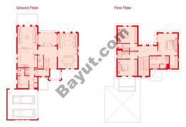 Floors (Ground,1st) 3 Bedroom