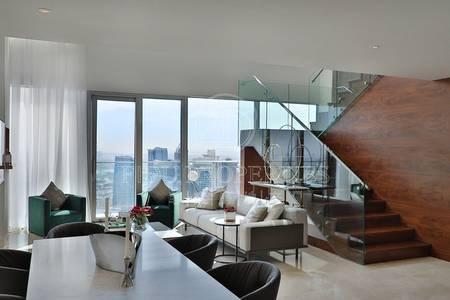 4 Bedroom Penthouse for Sale in Dubai Marina, Dubai - Golf course view | Higher floor | Duplex
