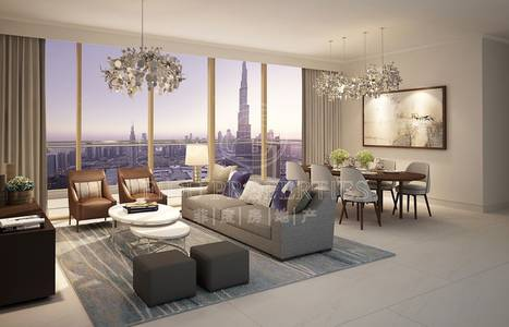 3 Bedroom Apartment for Sale in Downtown Dubai, Dubai - Fountain view | High Floor | Best quality