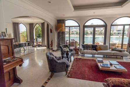5 Bedroom Villa for Rent in Palm Jumeirah, Dubai - Burj Al Arab View | Atrium Entry | Frond C