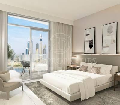 3 Bedroom Apartment for Sale in Dubai Harbour, Dubai - Corner Unit | Marina Views | High Floor.