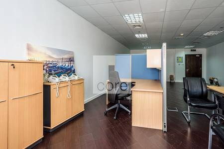 Office for Rent in Jumeirah Lake Towers (JLT), Dubai - Semi fitted unit for lease in Silver Tower