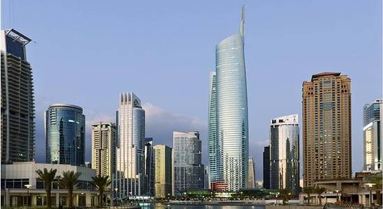 Office for Rent in Jumeirah Lake Towers (JLT), Dubai - Furnished Office Iconic Almas Tower in JLT