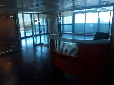 Office for Rent in Jumeirah Lake Towers (JLT), Dubai - Fitted Partition Office in Indigo Icon JLT!