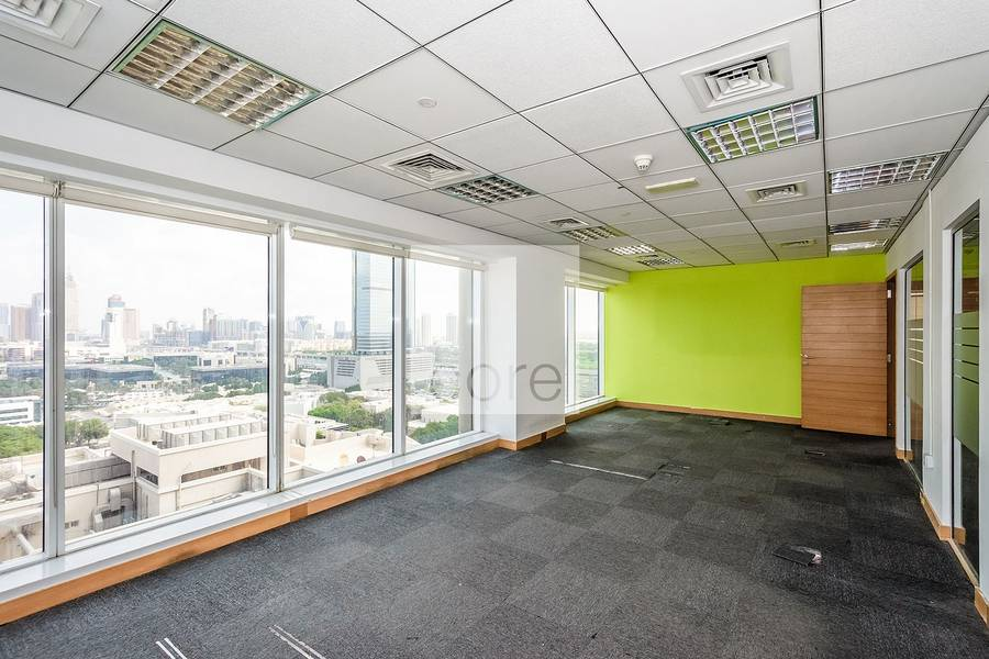 Fitted Office | Glass Partitions | Mid Flr