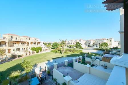 2 Bedroom Townhouse for Sale in Al Hamra Village, Ras Al Khaimah - Pool side - FEWA upgrade paid - Rented