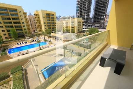 Lovely 2 Bedroom and Study Room   Pool View