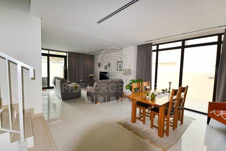 3 Bedroom Townhouse for Rent in DAMAC Hills (Akoya by DAMAC), Dubai - Single Row | Modern Design | TH - L Type