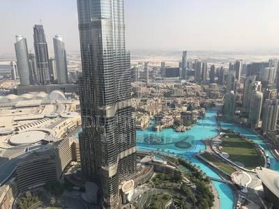 4 Bedroom Flat for Rent in Downtown Dubai, Dubai - Facing B/Khalifa and Fountain | High Floor