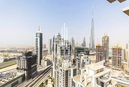 4 Bedroom Penthouse for Sale in Business Bay, Dubai - Duplex Penthouse|Splash Pool |Burj Views