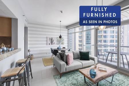 1 Bedroom Flat for Rent in Dubai Marina, Dubai - Brand New | Stylish Furniture | Services