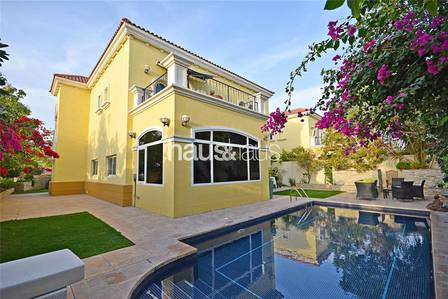 3 Bedroom Villa for Rent in Jumeirah Park, Dubai - Extended  Private Pool  Popular District