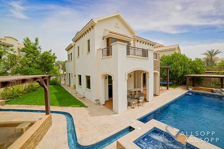 4 Bedroom Villa for Rent in Jumeirah Golf Estate, Dubai - Castellon | Outstanding  Landscaping<BR/><BR/>