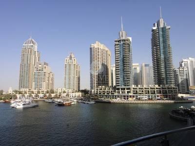 2 Bedroom Apartment for Rent in Dubai Marina, Dubai - 2 Bedroom + study in the Marina Terrace.