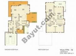 4 Bed Villa Type 10