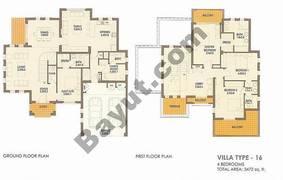 4 Bed Villa Type 16
