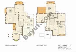 5 Bed Villa Type 17