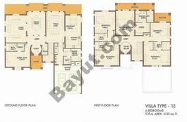 6 Bed Villa Type 13