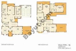 6 Bed Villa Type 18