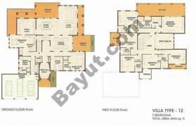 7 Bed Villa Type 12