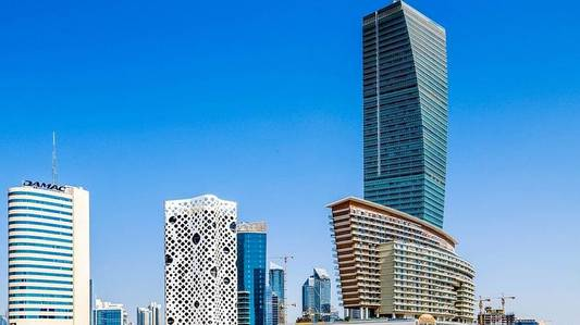 Floor for Rent in Business Bay, Dubai - Full Floor Office for Rent in Ubora Tower
