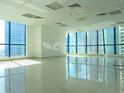 Office for Rent in Jumeirah Lake Towers (JLT), Dubai - Fitted Office with Beautiful Lake View in X2 Tower