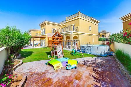 4 Bedroom Villa for Rent in The Villa, Dubai - Cordoba Landscaped garden Green courtyar