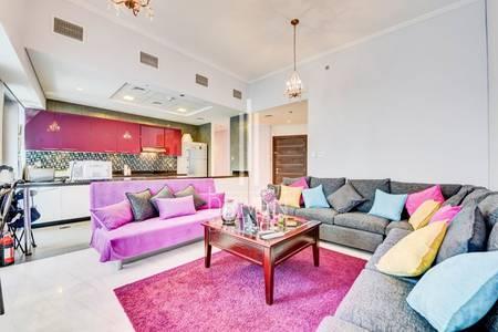 2 Bedroom Apartment for Rent in Dubai Marina, Dubai - Available VIP Unit |High Floor |Sea View