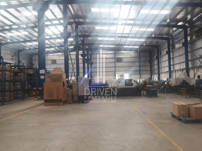 Warehouse for Sale in Jebel Ali, Dubai - Vacant Large Warehouse in Freezone South