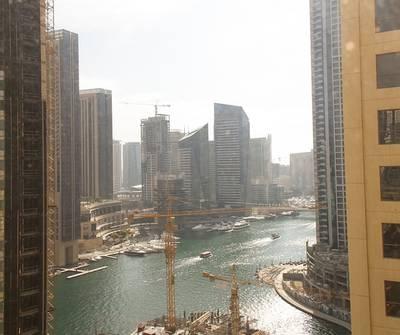 فلیٹ 3 غرفة نوم للبيع في مساكن شاطئ جميرا (JBR)، دبي - Spacious & bright - Rented - With partial sea & marina view