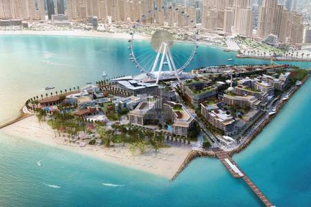 3 Bedroom Apartment for Sale in Bluewaters Island, Dubai - WATERFRONT LUXURY 3B| INVEST@ BEST|0%com