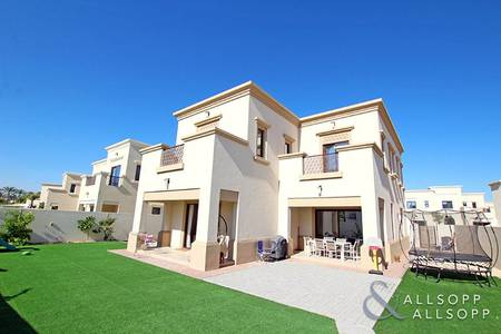4 Bedroom Villa for Sale in Arabian Ranches 2, Dubai - Single Row | Large Plot | Landscaped Garden