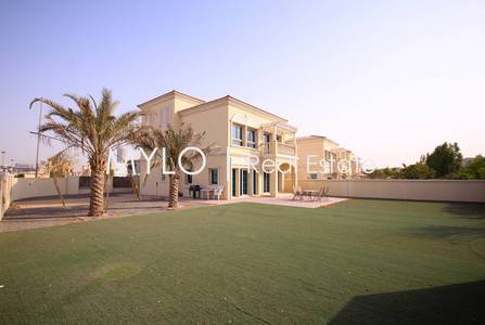 2 Bedroom Villa for Rent in Jumeirah Village Triangle (JVT), Dubai - 12 Cheques Ready to Move Big Corner Plot