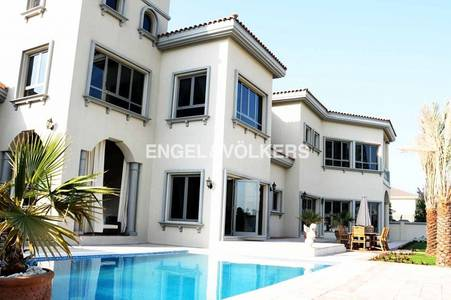 7 Bedroom Villa for Sale in Palm Jebel Ali, Dubai - Mediterranean I Furnished I Skyline View