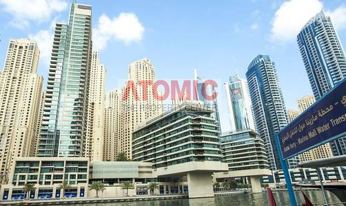1 Bedroom Flat for Rent in Dubai Marina, Dubai - Unfurnished 1 Bed Apt  with Marina view.