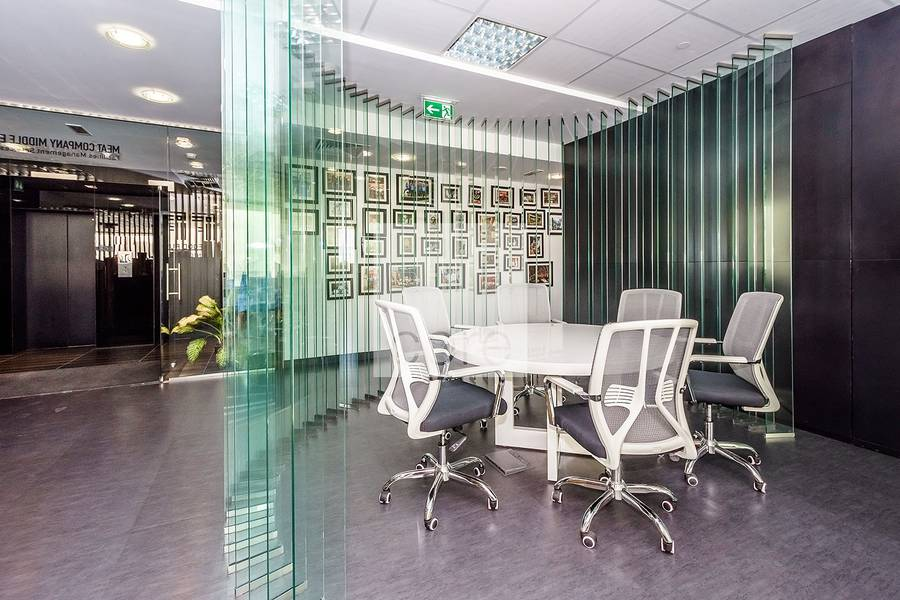 2 Fully Fitted | Glass Partitions | Full Flr