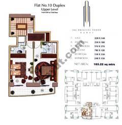 Floors (65-72) Flat 10 Duplex Upper Level 2Bedroom