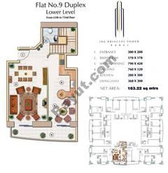 Floors (65-72) Flat 9 Duplex Lower Level 2Bedroom