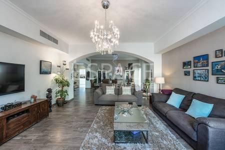 4 Bedroom Villa for Sale in The Lakes, Dubai - Upgrades Villa | Type 2 | Corner Plot