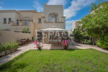 3 Bedroom Villa for Sale in The Springs, Dubai - VOT | Fronting the Park and Pool | Extended