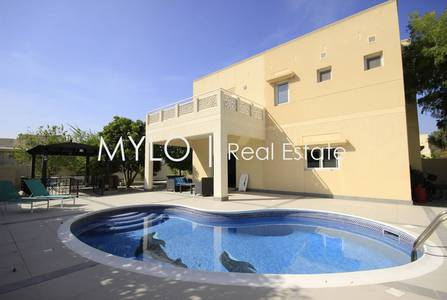 4 Bedroom Villa for Rent in The Meadows, Dubai - Tastefully Upgraded 4 Bedroom with Pool
