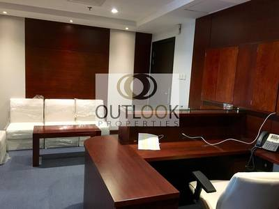 Office for Rent in Al Barsha, Dubai - luxury 3 glass partition space available for rent  at yes business center