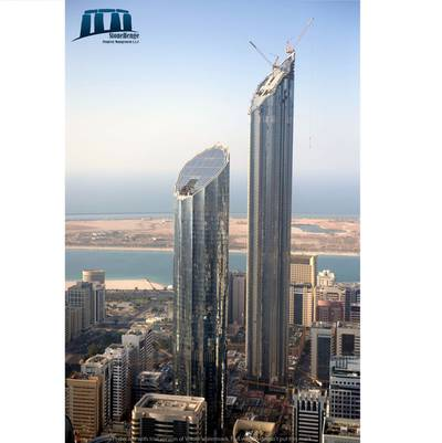1 Bedroom Flat for Rent in Corniche Area, Abu Dhabi - Top Standard 1BR in Mohammad Bin Rashid Tower w/ Free commission and 4 payments