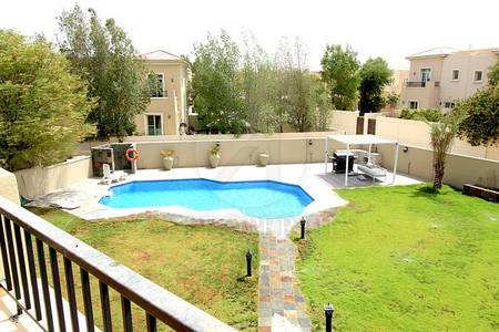 3 Bedroom Townhouse for Rent in Arabian Ranches, Dubai - Private Swimming Pool