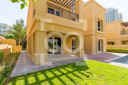 4 Bedroom Villa for Rent in Emirates Golf Club, Dubai - !!! THE LAST AVAILABLE WITH GOLF COURSE VIEW! 4BR PRIVATE POOL