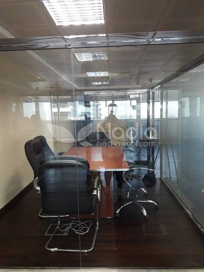 Office for Rent in Jumeirah Lake Towers (JLT), Dubai - Fitted & Furnished Office | With Balcony| Indigo Icon| JLT