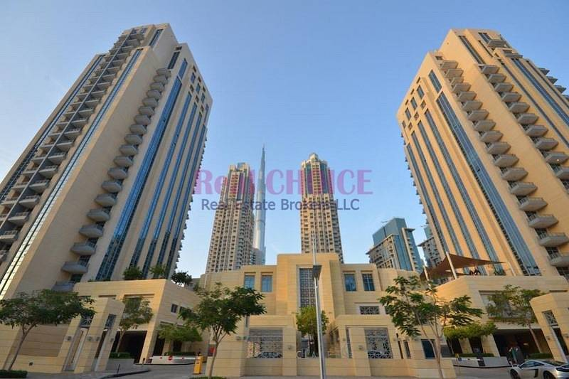 Rented | Huge 2BR with Burj Khalifa View