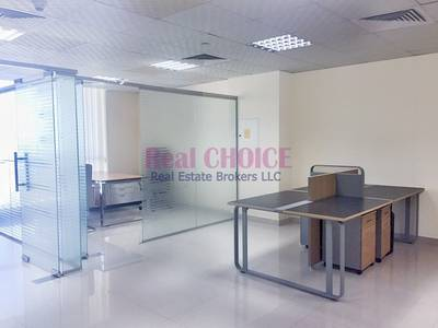 Office for Rent in Jumeirah Lake Towers (JLT), Dubai - Fully Fitted Office | 2 Glass Partitions