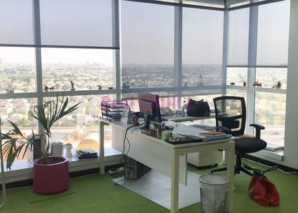Office for Rent in Jumeirah Lake Towers (JLT), Dubai - Fully Fitted|Great View of Emirates Hills