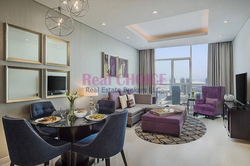 Furnished with Amazing Burj Khalifa View